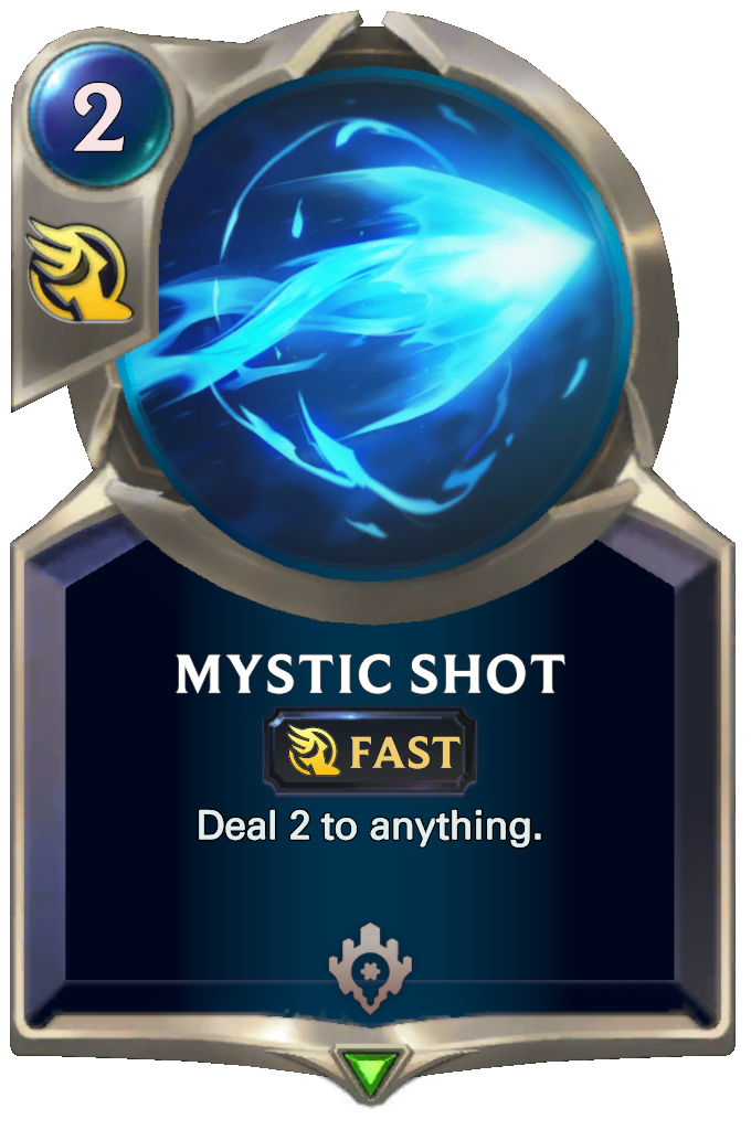 Legends of Runeterra Mystic Shot Card
