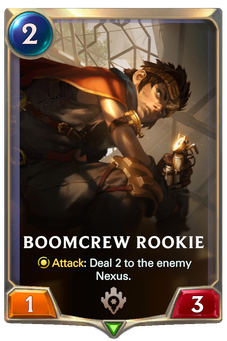 Boomcrew Rookie Card Image