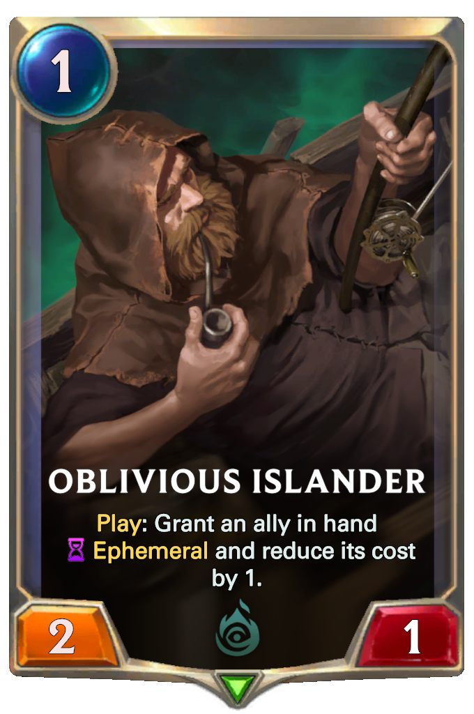 Oblivious Islander Card Image