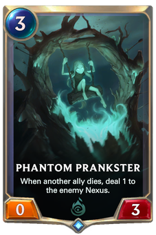 Legends of Runeterra Phantom Prankster Card