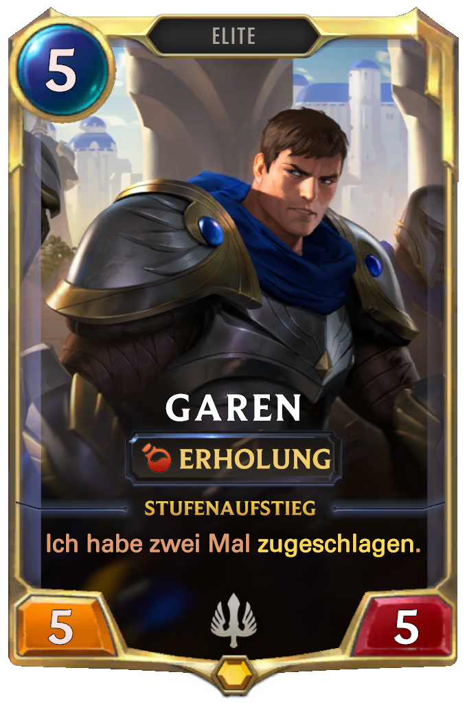 Legends of Runeterra Garen Card