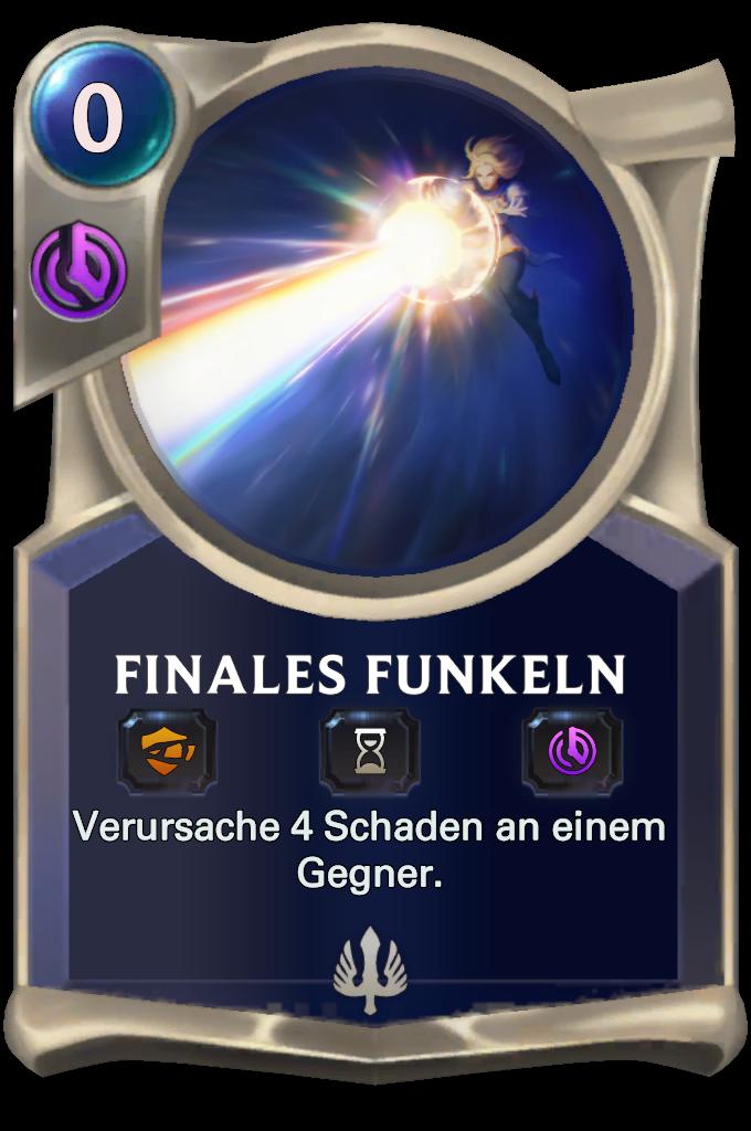 Final Spark Card