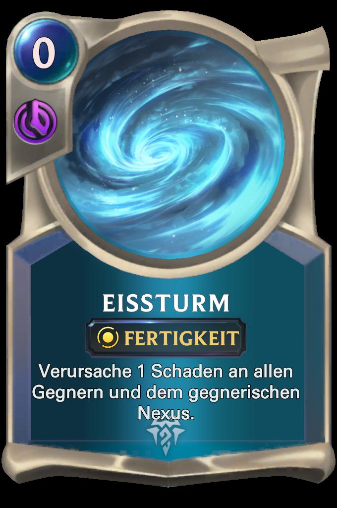 Glacial Storm Card