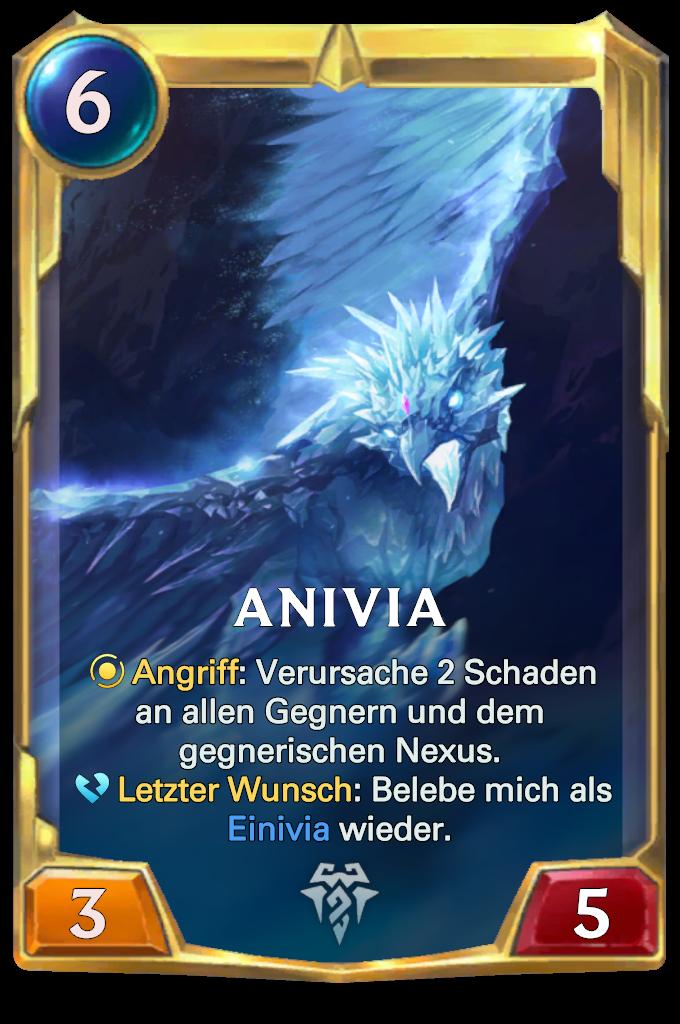 Legends of Runeterra Anivia Card