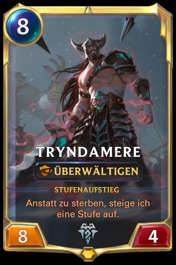 Tryndamere Card