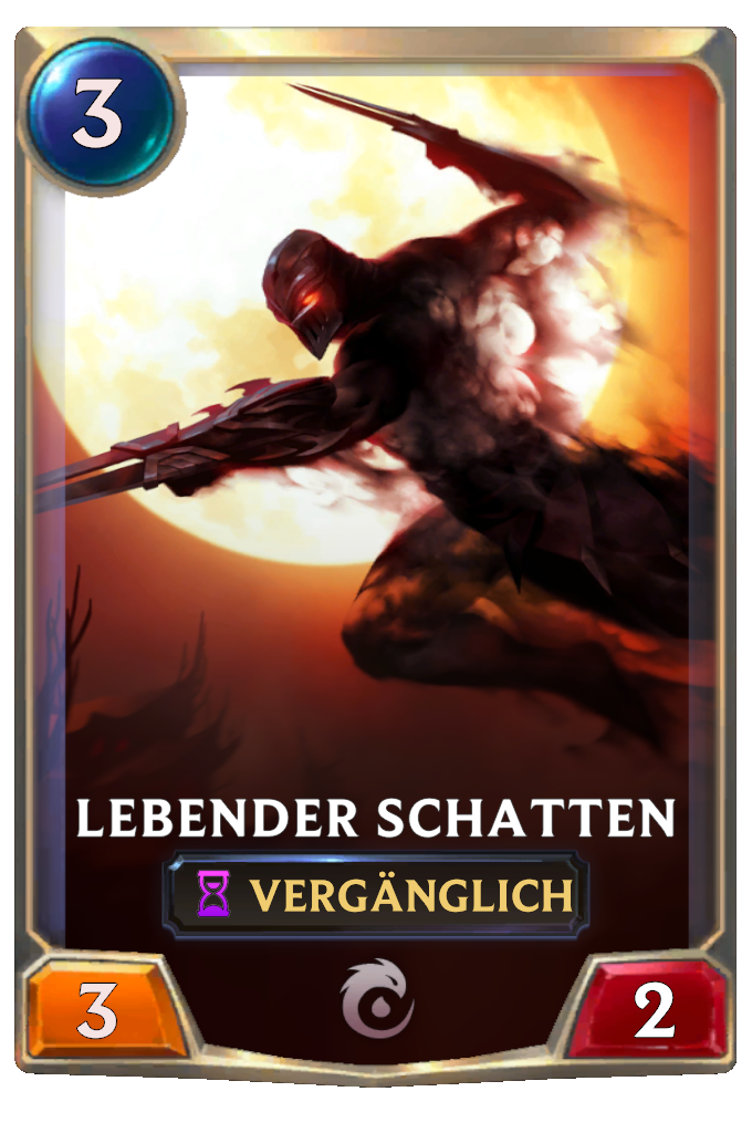 Living Shadow Card