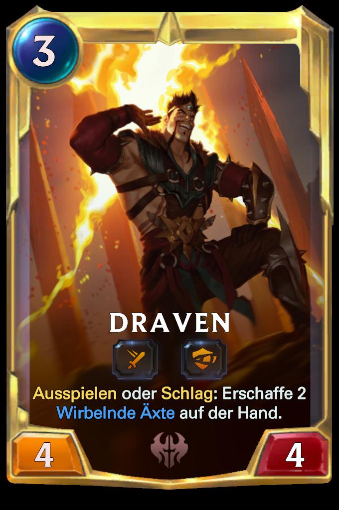 Draven Card