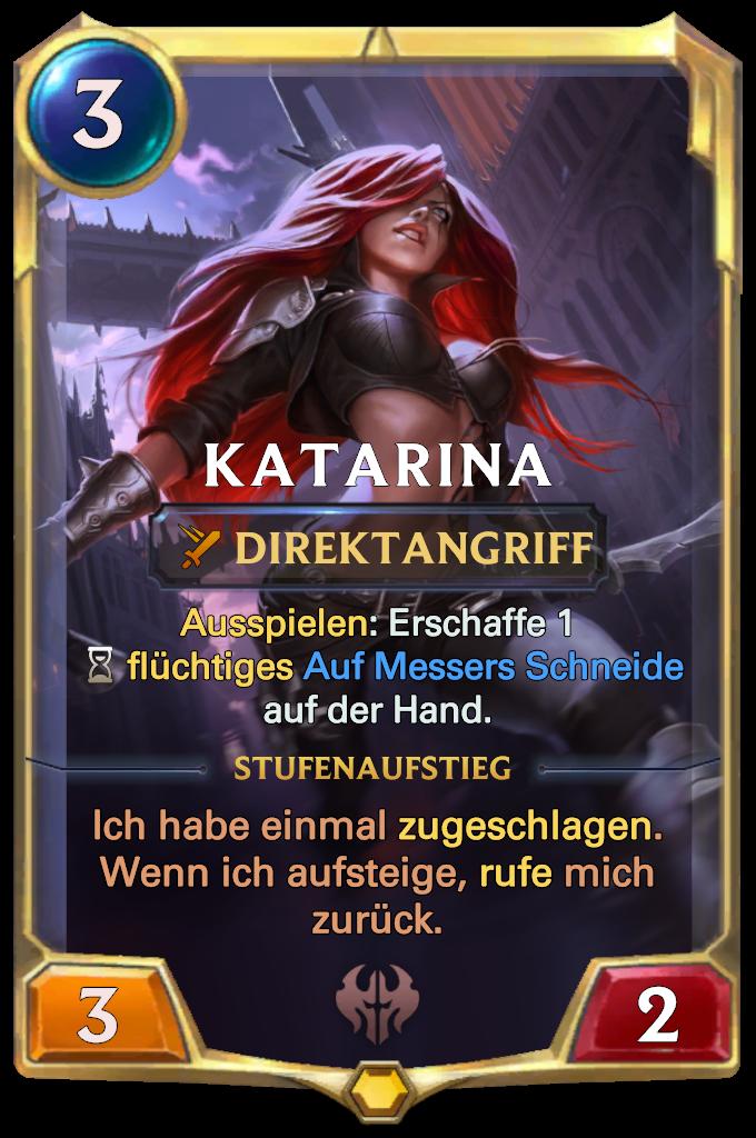 Katarina Card