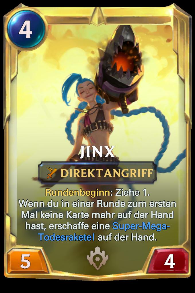 Legends of Runeterra Jinx Card