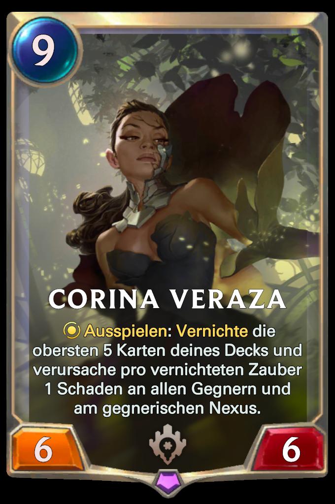 Legends of Runeterra Corina Veraza Card