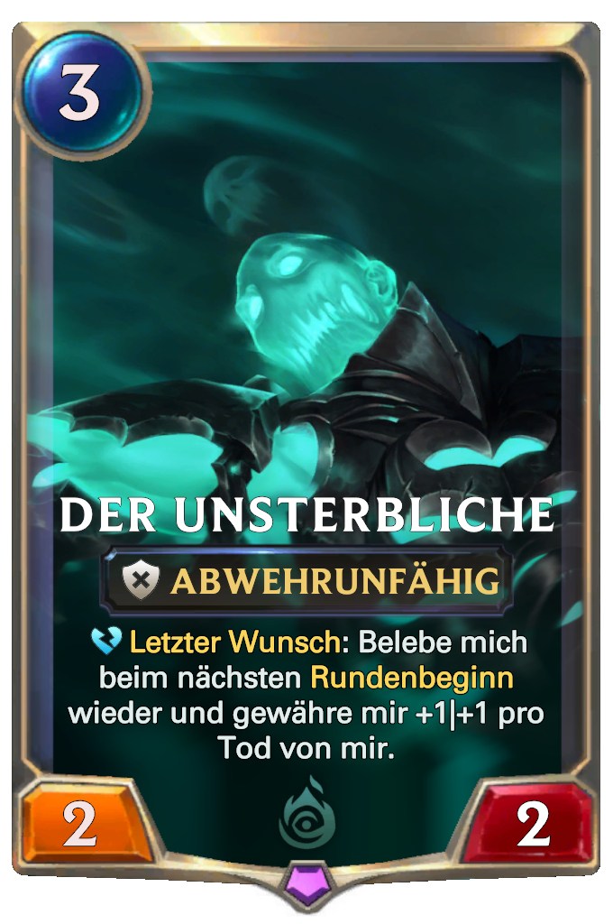 The Undying Card Image
