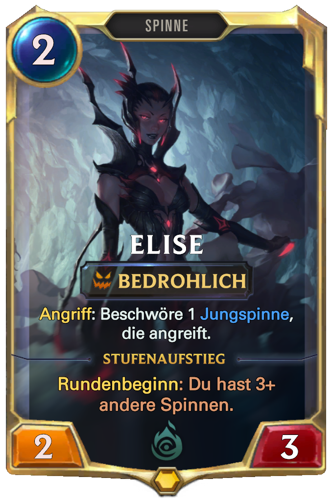 Legends of Runeterra Elise Card