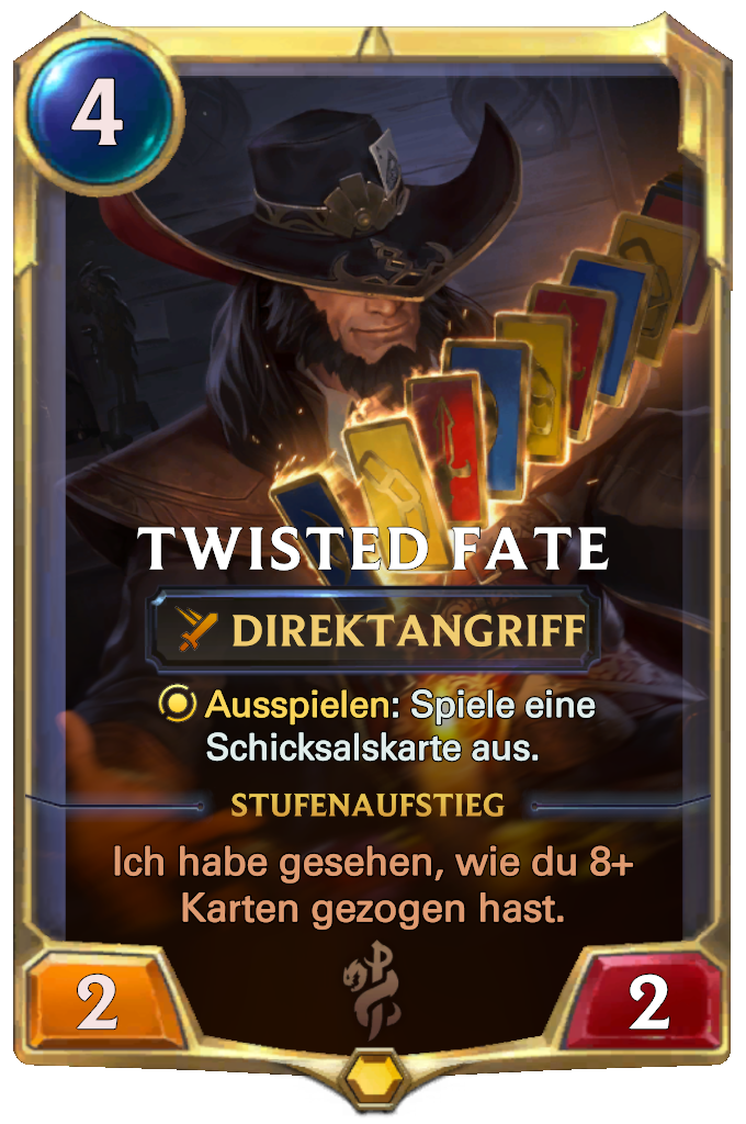 Legends of Runeterra Twisted Fate Card