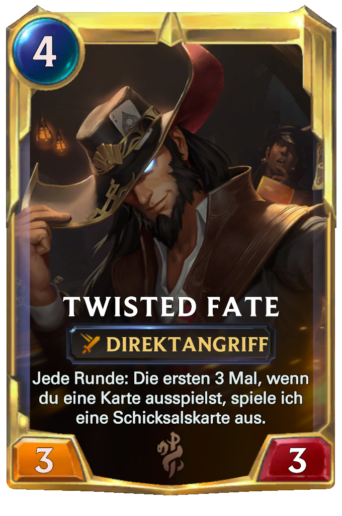Twisted Fate Card