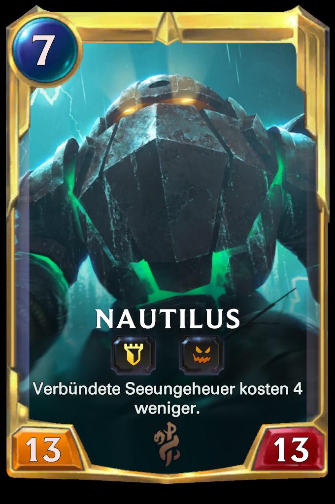 Legends of Runeterra Nautilus Card