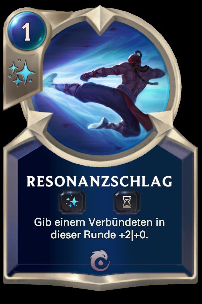 Resonating Strike Card
