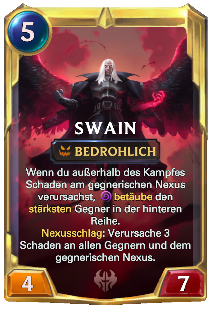 Legends of Runeterra Swain Card