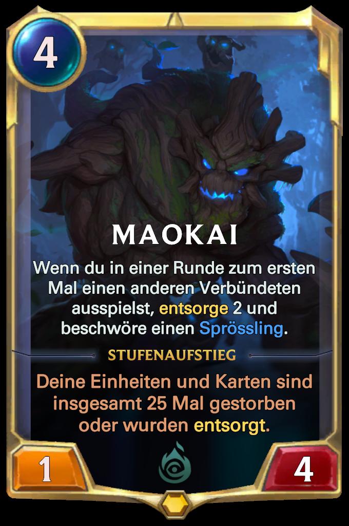 Maokai Card