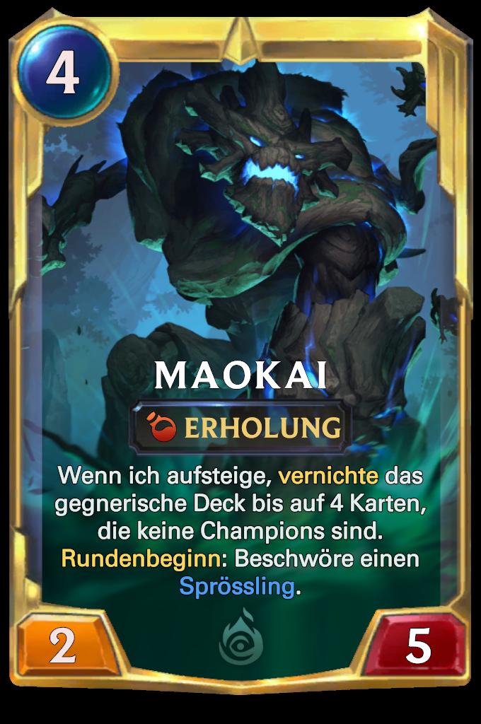 Legends of Runeterra Maokai Card