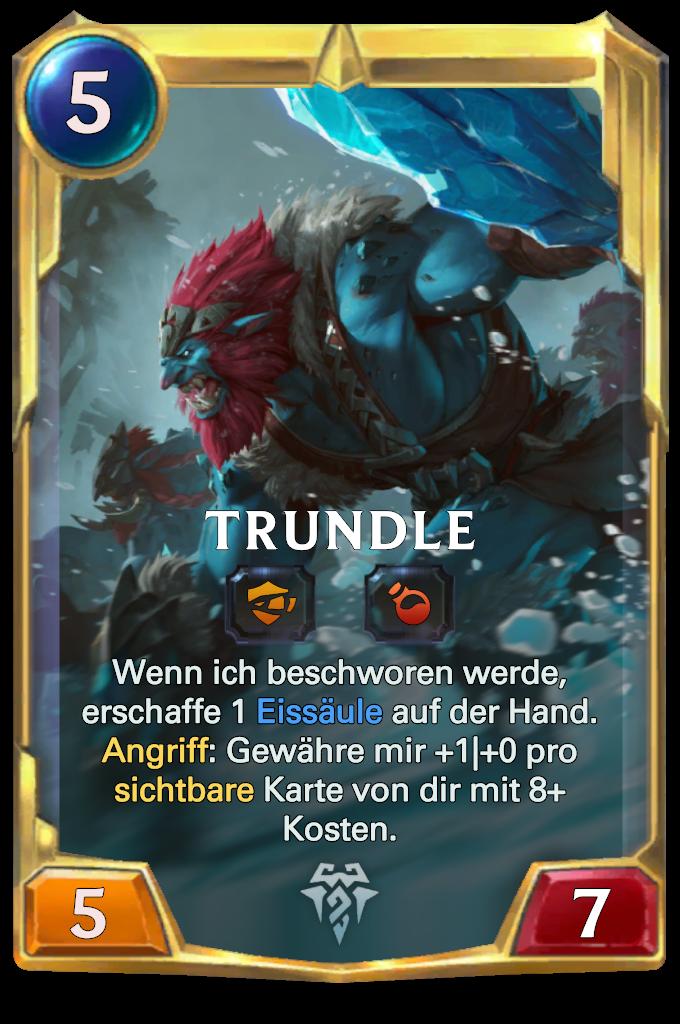 Legends of Runeterra Trundle Card