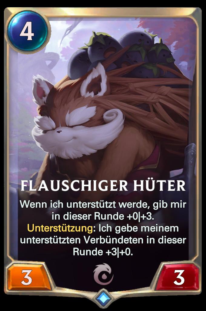 Fuzzy Caretaker Card Image