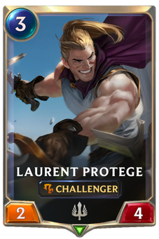 Laurent Protege Card Image