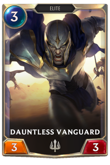 Dauntless Vanguard Card