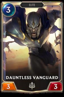 Legends of Runeterra Dauntless Vanguard Card
