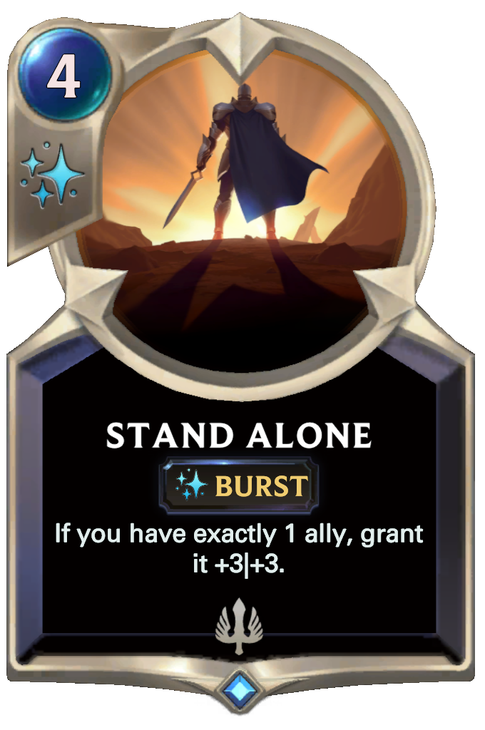Stand Alone Card Image