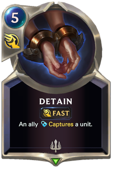Legends of Runeterra Detain Card