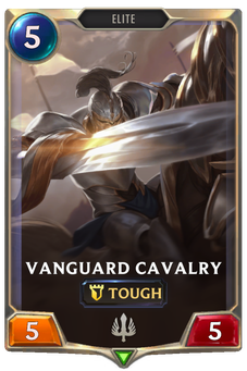 Legends of Runeterra Vanguard Cavalry Card