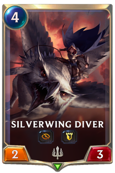 Legends of Runeterra Silverwing Diver Card