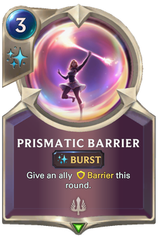 Prismatic Barrier Card Image
