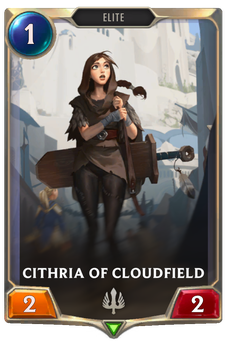 Cithria of Cloudfield Card Image