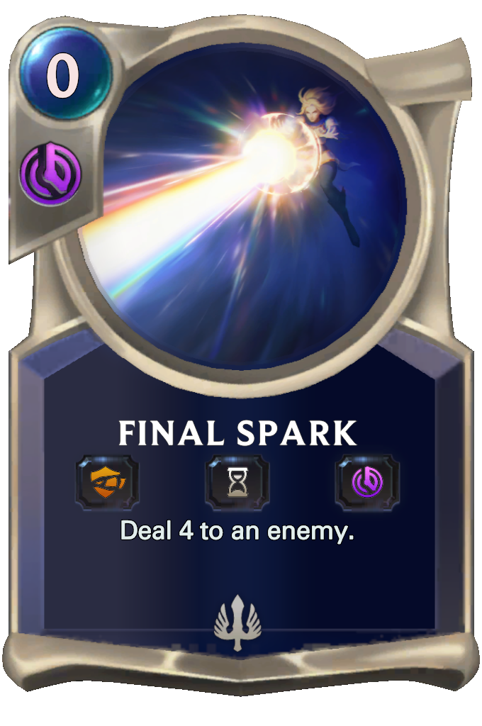 Legends of Runeterra Final Spark Card
