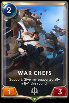 Legends of Runeterra War Chefs Card