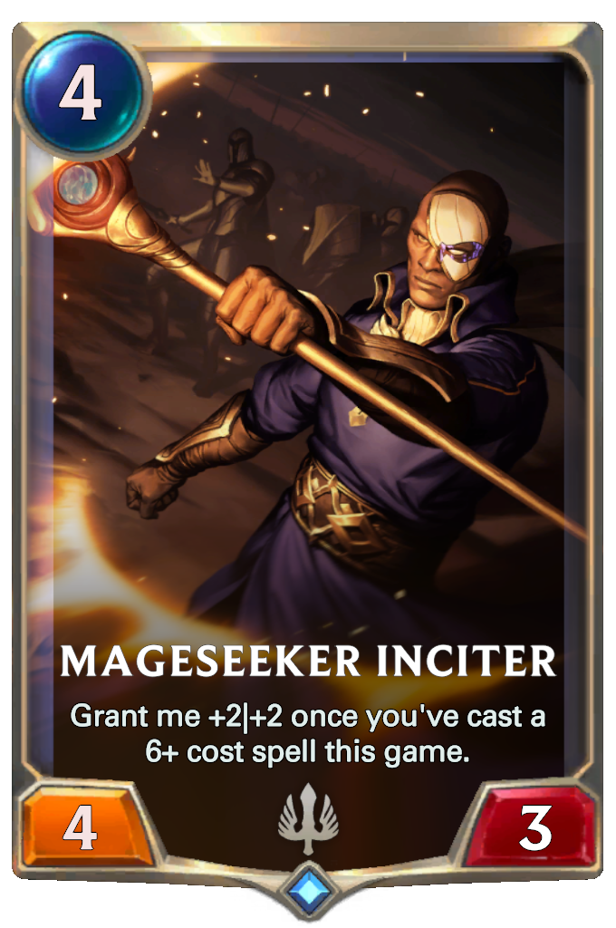 Legends of Runeterra Mageseeker Inciter Card