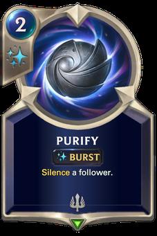 Legends of Runeterra Purify Card