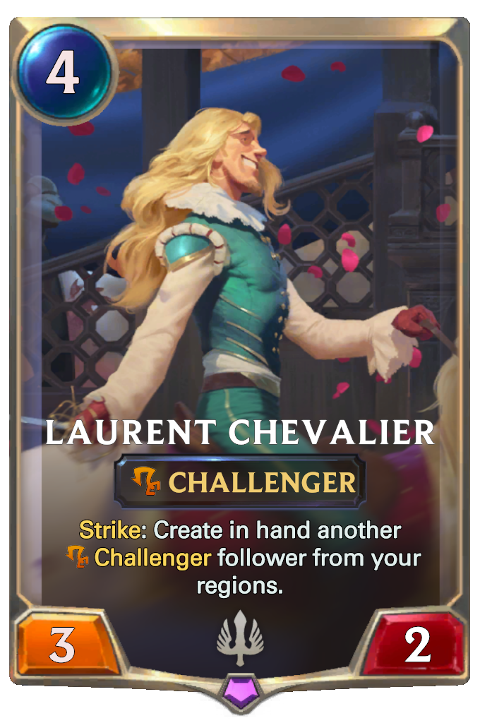 Legends of Runeterra Laurent Chevalier Card