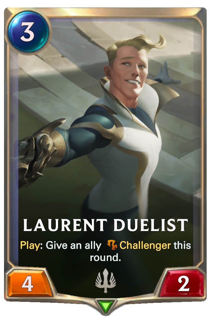 Laurent Duelist Card Image