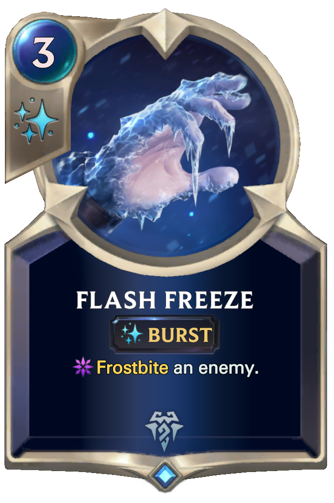 Flash Freeze Card Image