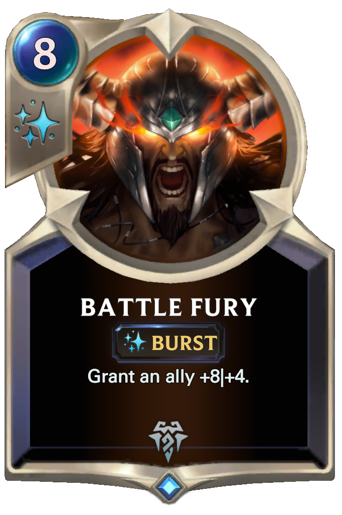 Legends of Runeterra Battle Fury Card