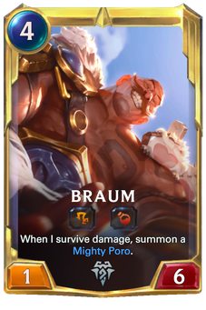 Legends of Runeterra Braum Card