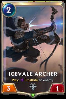 Legends of Runeterra Icevale Archer Card