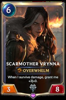 Legends of Runeterra Scarmother Vrynna Card