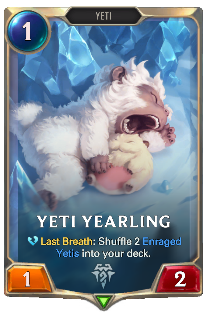 Yeti Yearling Card Image