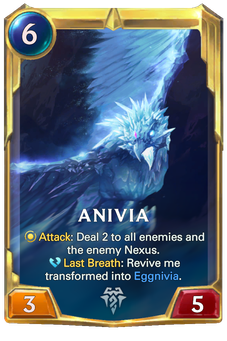 Legends of Runeterra Anivia Card