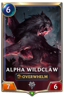 Alpha Wildclaw Card Image