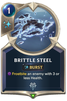 Brittle Steel Card Image