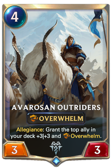 Avarosan Outriders Card Image